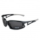CARSHIRO XQ-185 UV400 Protection Outdoor Cycling Polarized Sunglasses - Black + Grey