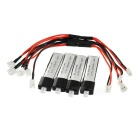 WLtoys KV911-0006 3.7V 200mAh Polymer Li-ion Battery w/ Charging Cable for RC Helicopter V911