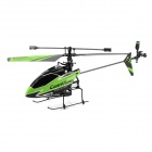 WLtoys V911 4-Kanal 2.4GHz R / C Helicopter w / Battery Charging Cable - Grün + Schwarz