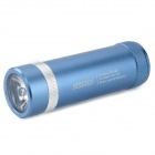 Metrans MP30 Water Resistant 6600mAh Mobile Power Bank w/ LED Flashlight - Blue