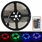 Waterproof 300-3528 SMD LED RGB tira flexível w / 24-Key Controller (12V 5m)