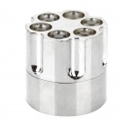 Tobacco Stainless Steel Grinder Machine - Silver + Golden