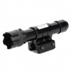 LR07 5mW Green Laser Gunsight for 11~20mm Gun Rail - Black