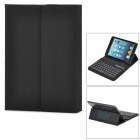 "Universal 60-key Bluetooth Detachable Keyboard w/ PU Leather Case for 7"" Tablet PC - Black"