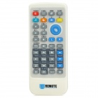Single 2.4GHz Wireless Remote Control for PC - White + Grey (1 x CR2032)