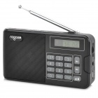 "NOGO R808 1.2"" Screen TF Card Music Player / FM & AM Radio w/ Speaker - Black + Gray (32GB Max.)"