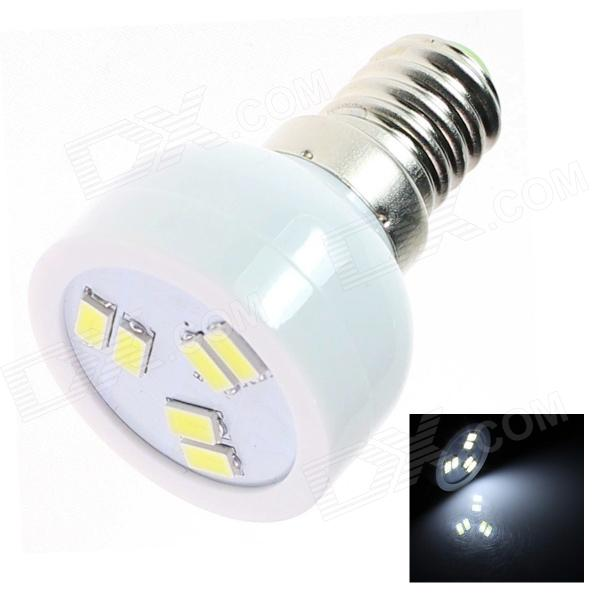 GCD XS22 E14 0.9317W 73.66lm 6500K 6-SMD 5630 LED White Energy Saving Light Bulb (AC 220~240V)
