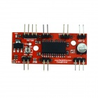 Manolins A3967 Stepper Motor EasyDriver Shield Drive Driver Board for 3D Printer - Red
