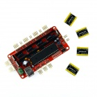 Manolins RepRap Assembled Prusa Mendel Sanguinololu Ver1.3a Board for 3D Printer - Red + Black