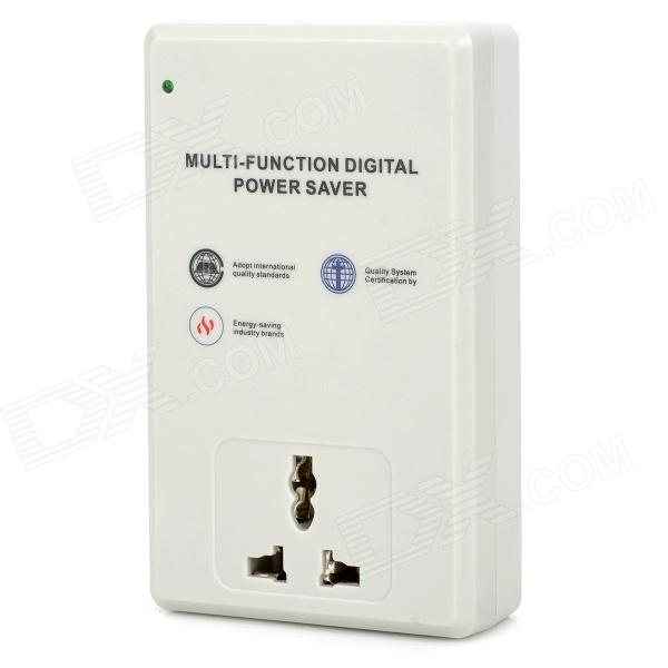 SD003 Multifunction Au Plug Digital Electricity Power Saver - Grey (90~250V)