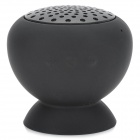 KTS-06B Suction Cup Mount Mini Bluetooth v2.1 Speaker - Black