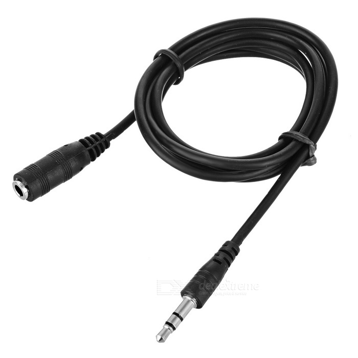 3.5mm Stereo Audio Cable Male-Female (1-Meter)