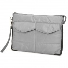 Stylish Protective Padded Storage Carrying Bag w/ Hand Strap for Ipad / Ipad 2 - Grey