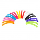 Fashionable Acrylic Hair Clip - Multicolored (1 x 20 PCS)