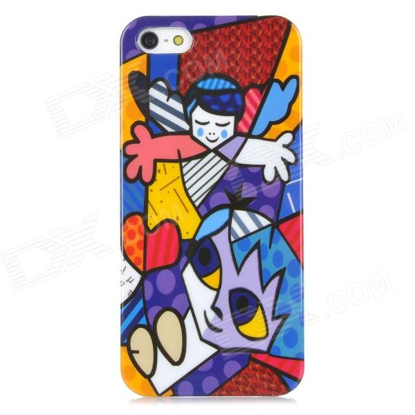 Graffiti Boys Style Protective Hard Plastic Back Case for Iphone 5 - Multicolor защитный чехол pacha sunrise cherries hard case для iphone 5