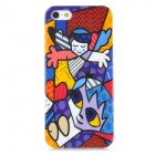 Graffiti Boys Style Protective Hard Plastic Back Case for Iphone 5 - Multicolor
