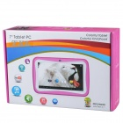 "BENEVE M755 7"" android kids tablet pc w / 512MB RAM 4GB ROM - rosa profundo"