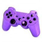 Replacement ABS + Electroplating Full Case for Bluetooth Sony PlayStation 3 Controller - Purple