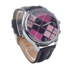 Super Speed V0153-BP Fashionable Stainless Steel Case Men's Quartz Analog Wrist Watch - (1 x LR626)