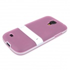 Enkay protection TPU Retour Case w / stand pour Samsung Galaxy Mini S4 / i9190 - rose