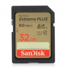 SanDisk Extreme SDHC Memory Card - Black (Class 10 / 32GB)