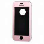 NEWSH Protective Aluminum Alloy Full Body Case for Iphone 5 - Pink