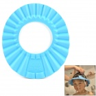EVA Water / Shampoo Protection Hair Washing Hat for Kids - Blue