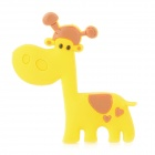 Creative Giraffe Style Refrigerator Magnetic Sticker - Yellow + Brown
