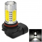 9006 16W 900lm 6500K 2-Cree XP-E + 4-COB LED White Light Car Headlamp - Silver (10~30V)