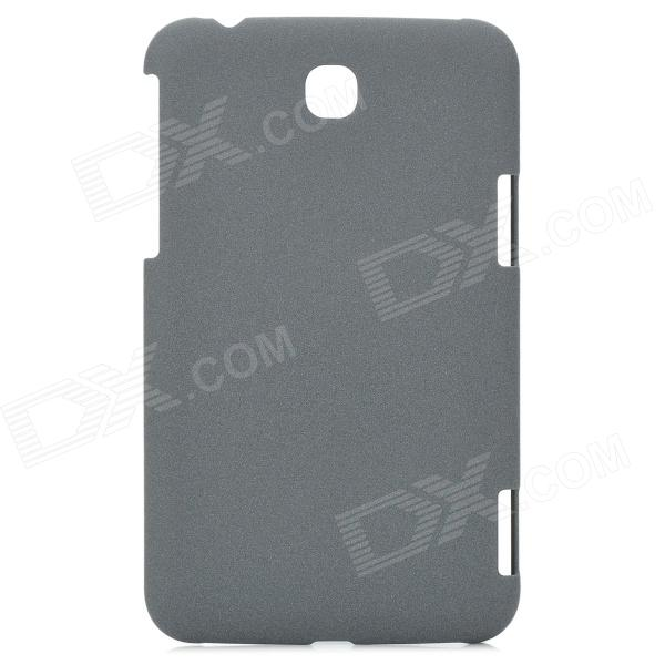 LSK23 Drift Sand Style Protective Plastic Hard Back Case for Samsung Galaxy Tab 3 P3200 - Grey