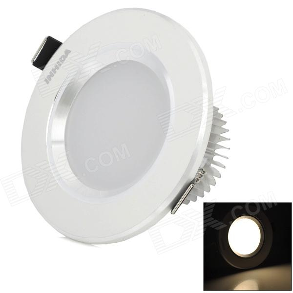INHIDA IHD-X03A017W.W 4W 142lm 3000K Warm White Light LED Down Lamp - White (AC 86~265V)