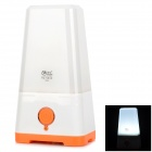 YAGE YG-5533 Rechargeable 800mAh 16-LED Electronic Camping Lamp - White + Orange (AC 110~220V)