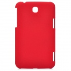 LSK23 Protective PC Back Case for Samsung Galaxy Tab 3 P3200 - Red