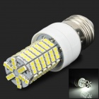 Lexing LX-YMD-001 E27 4W 380lm 7500K 144-3528 SMD LED White Light Lamp - White + Yellow