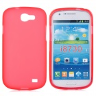 Stylish Protective Back Case for Samsung i8730 - Red