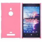 Protective Frosted ABS Back Case for Nokia Lumia 925 - Pink