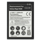 Replacement 3.7V 3500mAh Rechargeable Li-ion Battery for Samsung Galaxy Mega 6.3 / I9200 - Black