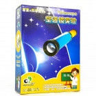 Explore Kid EK-D012 Popular Science Educational Telescope Toy Kit - Blue + Yellow