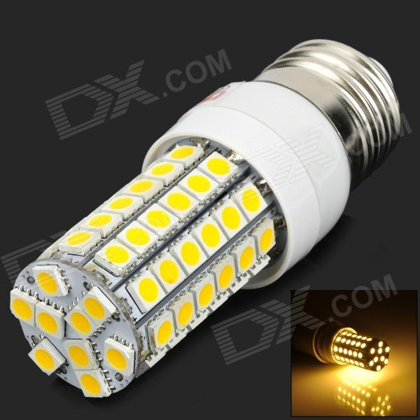 Lexing LX-YMD-001 E27 5W 580lm branco quente 69-SMD luz LED - amarelo