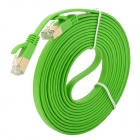 RJ45 Male to Male Connection Networking Flat Cable - Lime Green (3m)