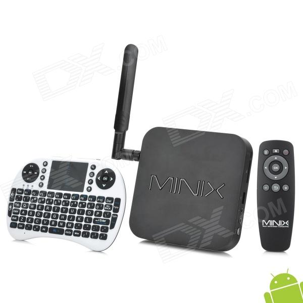MINIX NEO X7 + Rii i8 Air Mouse Android 4.2.2 Quad-Core Google TV Player w/ 2GB RAM / 16GB ROM minix neo x8 plus android 4 4 tv box hd media streaming player 4k 2gb 16gb2 band wi fi bt4 0 w a2 lite keyboard air mouse