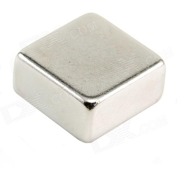 10050071W Powerful Square NdFeB Magnet - Silver