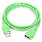 USB 2.0 Male to Female High Speed Extended Cable - Green (1m)