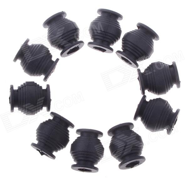 Anti-vibración Rubber Ball Dual-Head para FPV PTZ - Negro