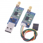 433Mhz Single TTL 3D Robotics 3DR Radio Telemetry Kit for APM APM2 - Blue + Green