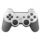 Vigrand Wireless Bluetooth Dual-Shock 6-Axis Game Controller for Playstation3 PS3 - Silver