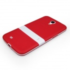 ENKAY Protective TPU Back Case w / Stand for Samsung Galaxy Mega 6.3 i9200 / i9208 - Red