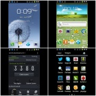 "i9502 Android 2.3.5 GSM TV Bar Phone w/ 4.0"" Capacitive Screen, Quad-Band and Wi-Fi - Black"