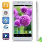 "D2 MTK6572 Dual-Core Android 4.2.2 WCDMA Bar Phone w/ 5.0"", Wi-Fi, FM and GPS - White"
