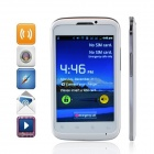 "MP991 (sphs on hsdroid) Android 2.3.5 GSM Bar Phone w/ 4.0"", Wi-Fi and Quad-Band - White + Silver"